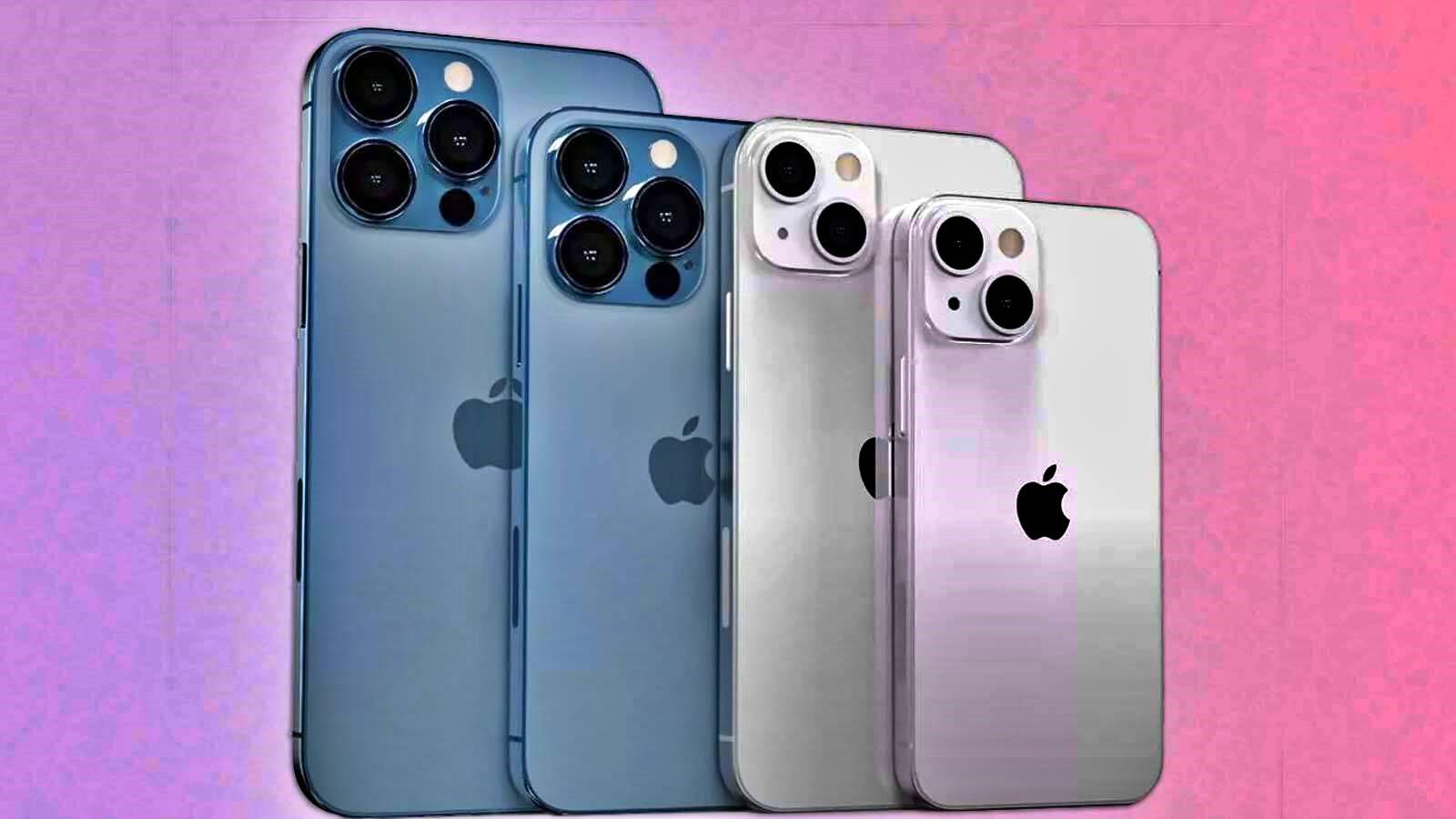 Seria iPhone 13 va cuprinde patru modele