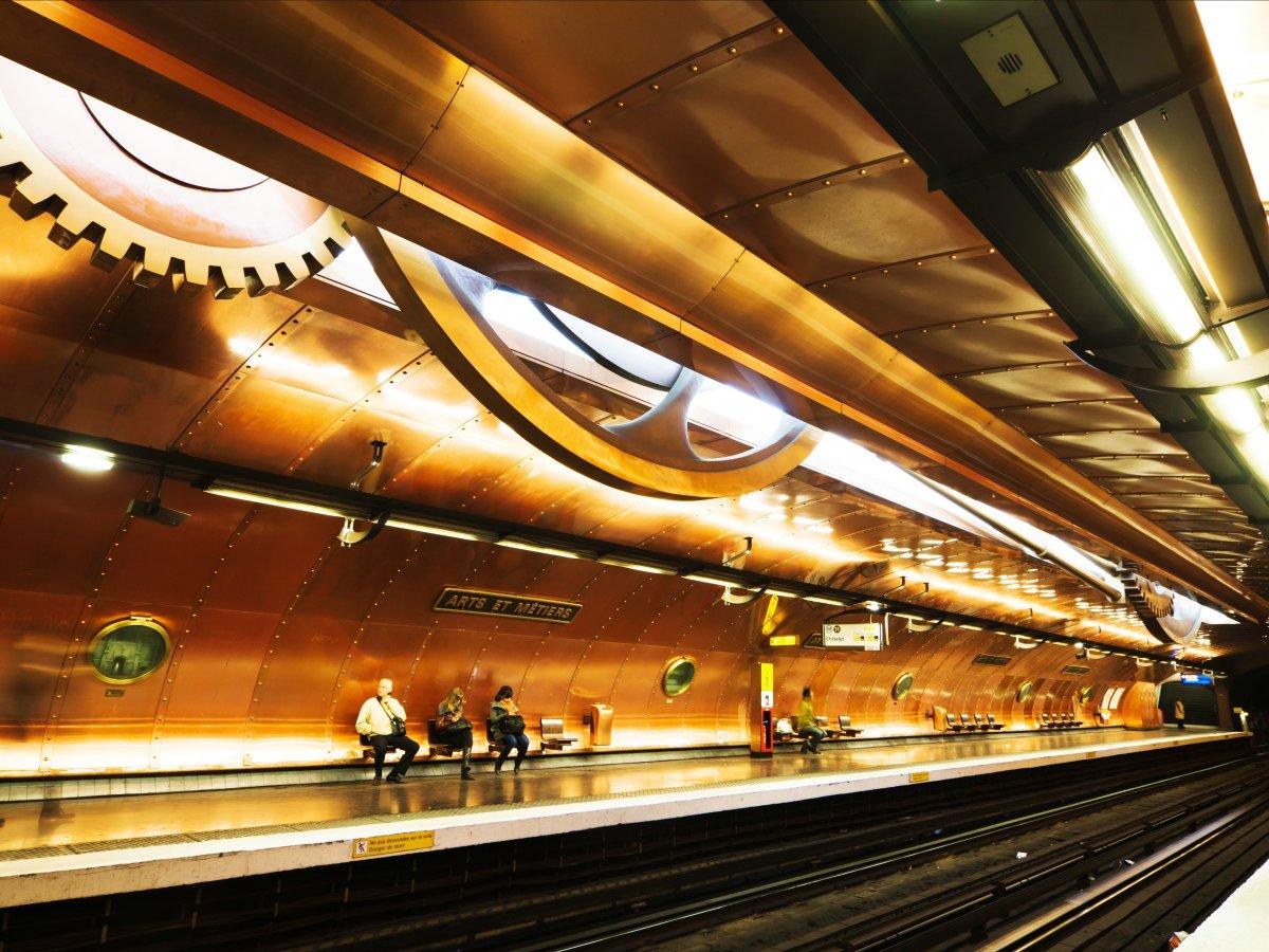 Stația Arts et Metiers, Paris