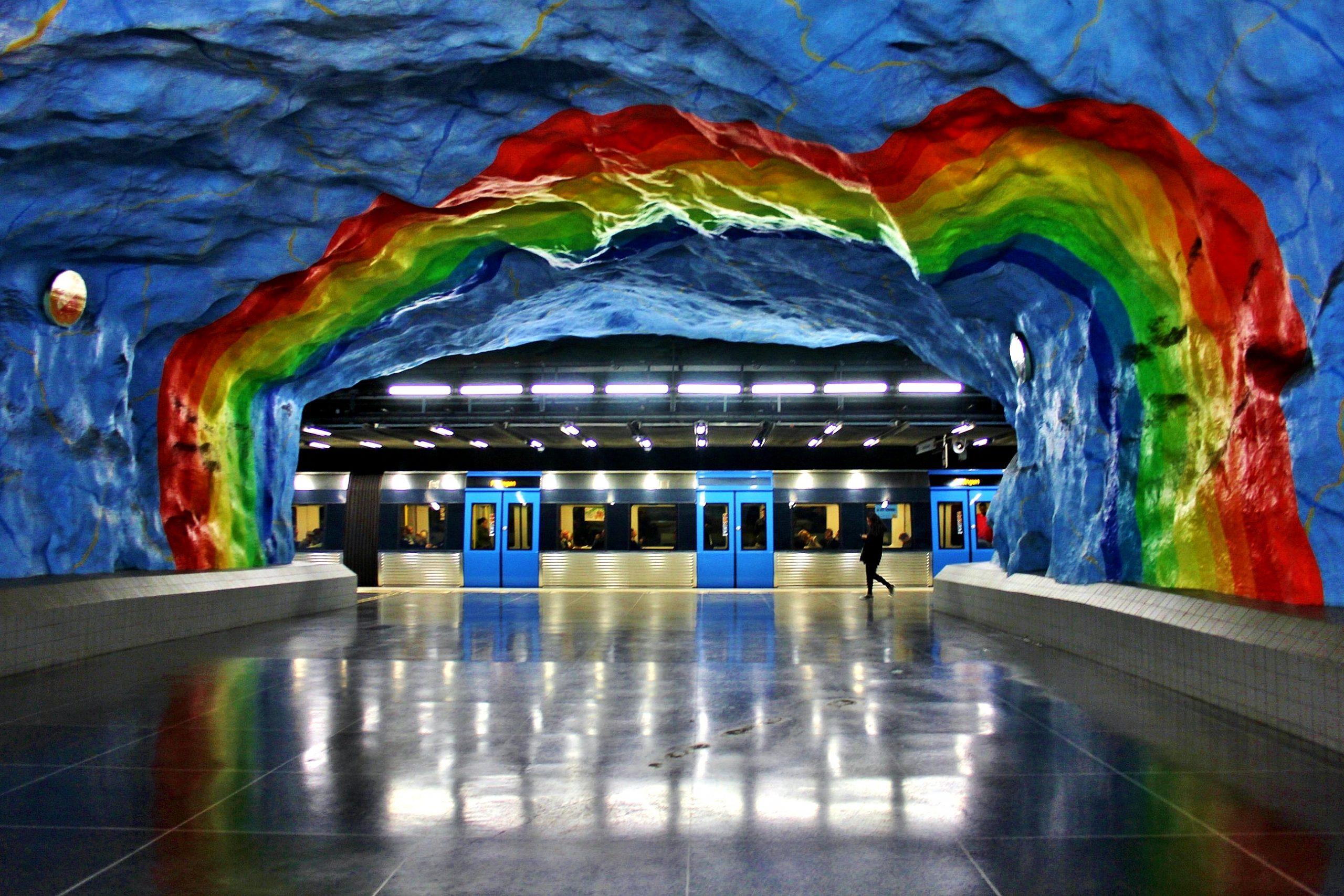 Stația Stadion, Stockholm